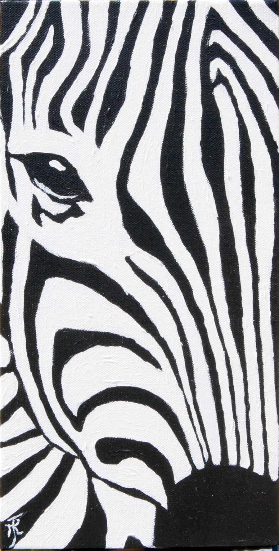 zebra head 1
