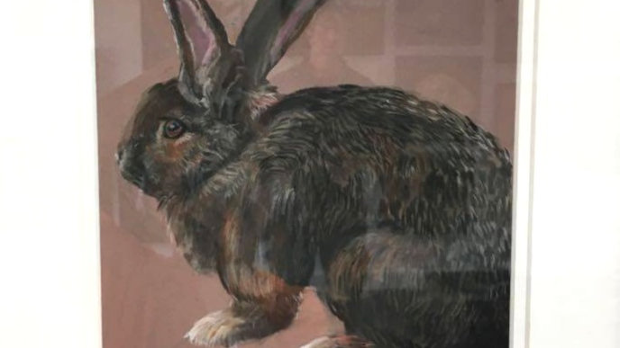 Giant Rabbit- Painting