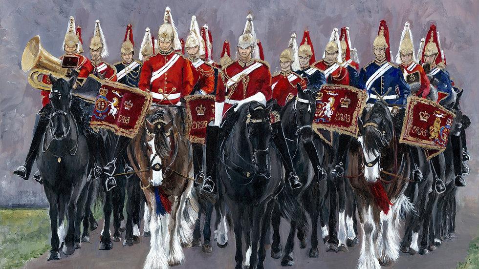 Major General's Parade- Card