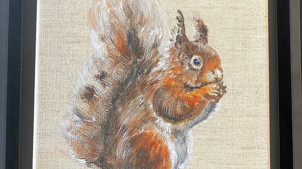 Squirrel Set- Painting