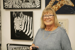 Maggee Johnson in her gallery