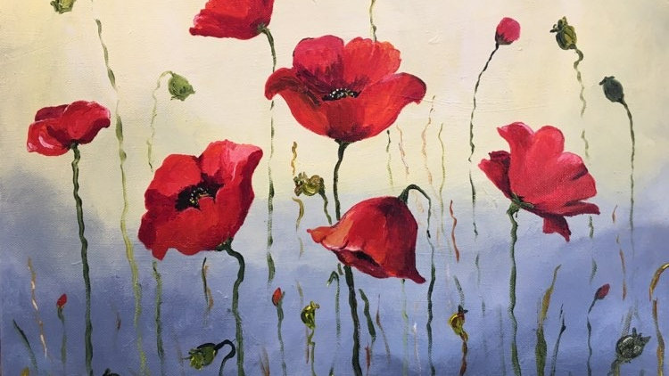 Moody Poppies