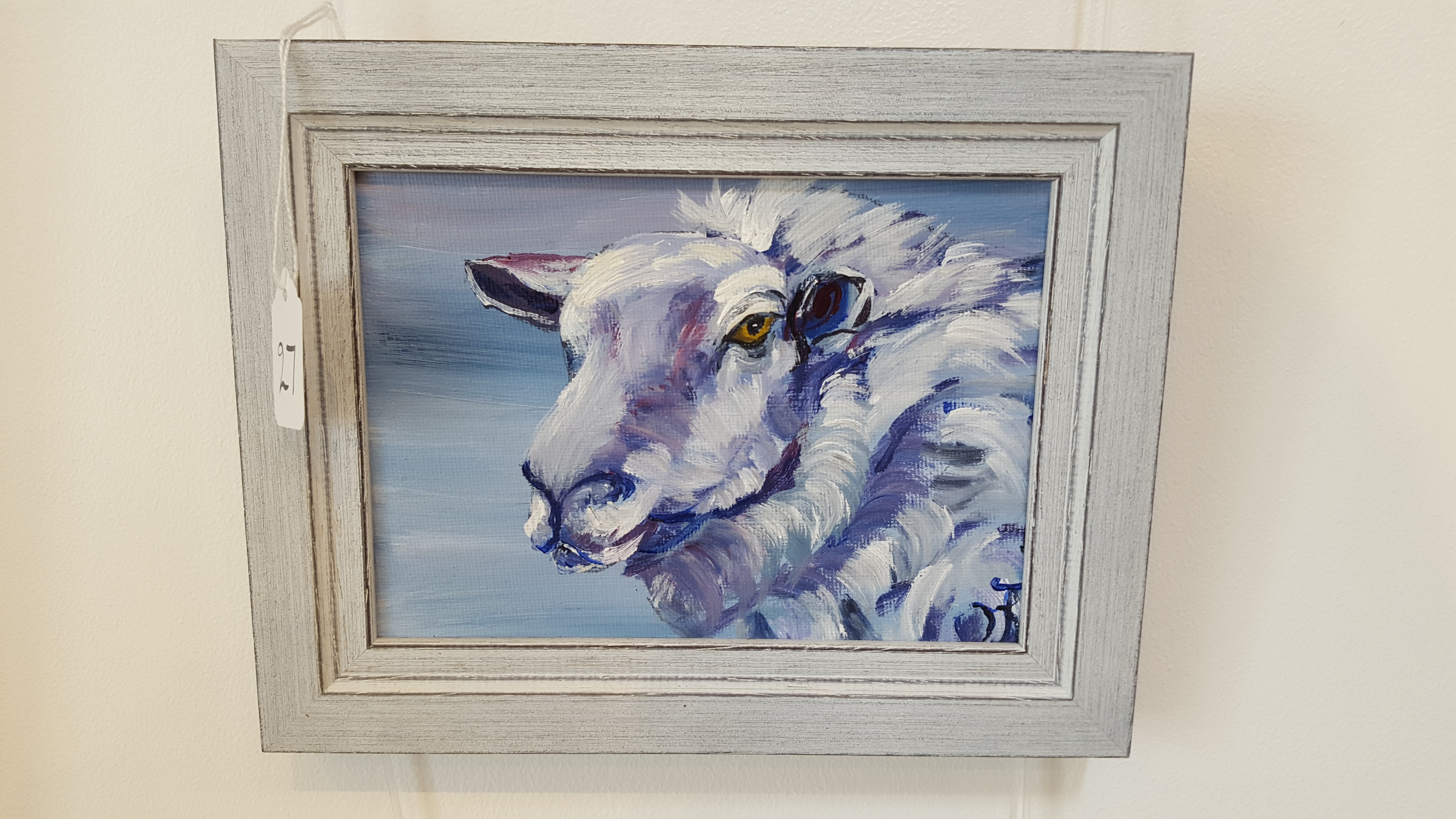 Blue ewe
