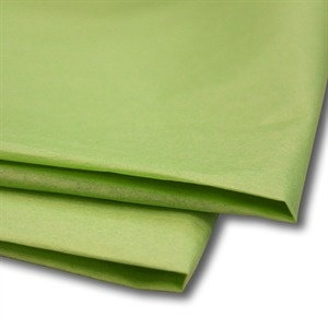 450mm x 700mm 17GSM Mid Green Tissue Paper (480 sheets)