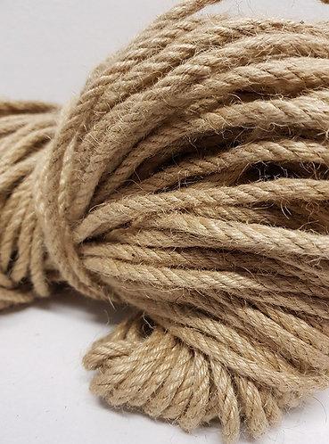 Bamboo fibre twine 6.5mm dia 100mtr per reel