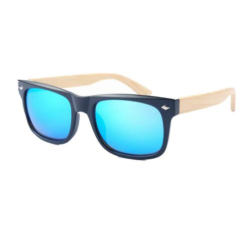 cea2405e58 L.A Aqua Bamboo Sunglasses By Eye Panda