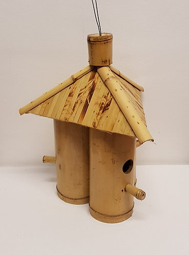 Bamboo Three Piece Bird House.
