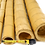 Thumbnail: 10ft (3.05m) 50-60mm diameter speckled bamboo poles. 10 poles per pack