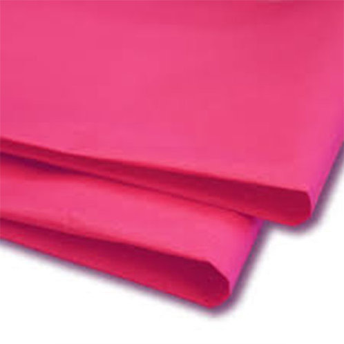 500mm x 750mm 18GSM Pink Tissue Paper (480 sheets)