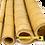 Thumbnail: 8ft (2.44m) 100-115mm diameter natural moso bamboo poles. 5 poles per pack