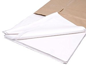 450mm x 700mm 19GSM White Acid Free Tissue Paper (480 sheets)