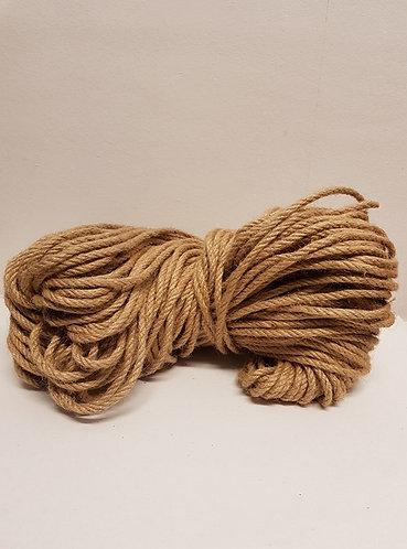 Bamboo fibre twine 5mm dia 100mtr per reel