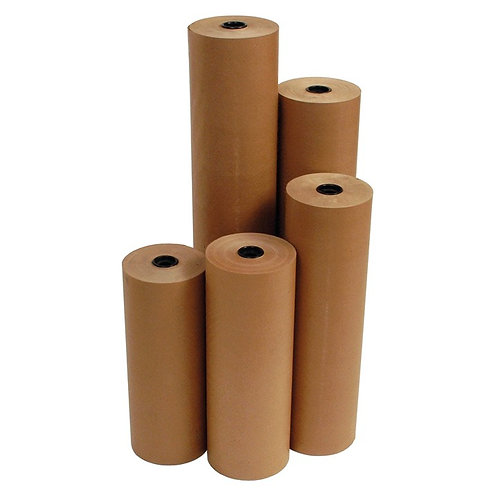 150mm x 500M 100gsm Cold seal Kraft Paper (3 per pack)