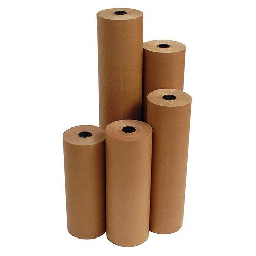 125mm x 500M 100gsm Coldseal Kraft Paper (3 per pack)