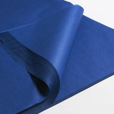 450mm x 700mm 17GSM Dark BlueTissue Paper (480 sheets)