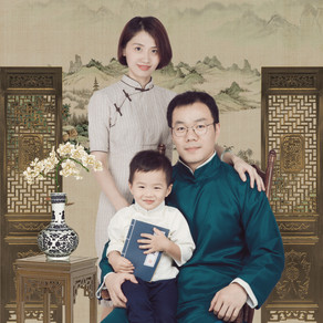 Traditional Chinese Painting Photo Shoot