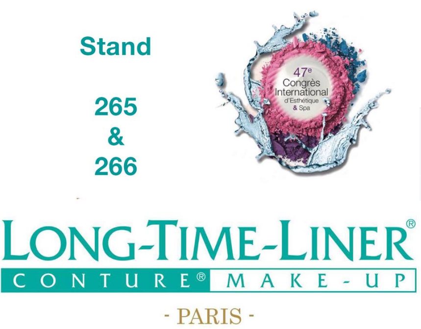 Nous sommes présentes pendant le 47e Congrès International de l'Esthetique & Spa sur le stand 265 et le 266 du 1er au 3 Avril ! Notez déjà nos numéros de stands ainsi que les dates