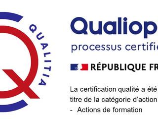 "International PMU Academy ""Violetta Beauty"" est certifié qualité Qualiopi"