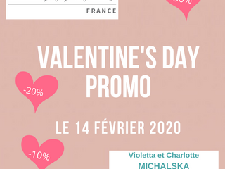 Offres Saint Valentin
