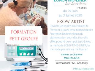 Formes toi à la pigmentation des sourcils dès le 29 Juin 2020 !