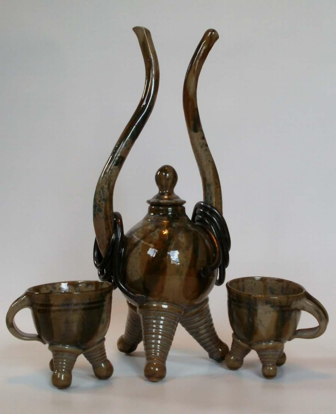 Hallelujah Teapot w/ Cups