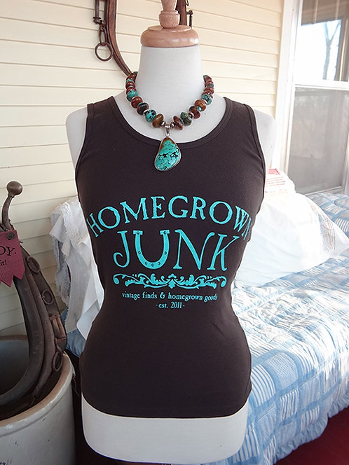 HGJ Chocolate Brown Tank Top