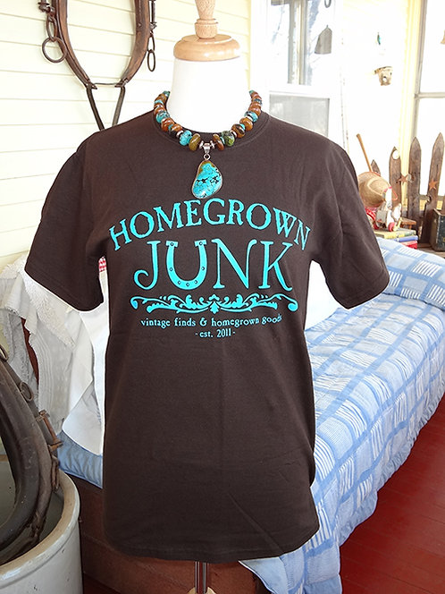 HGJ Chocolate Brown T-Shirt Heavy Weight