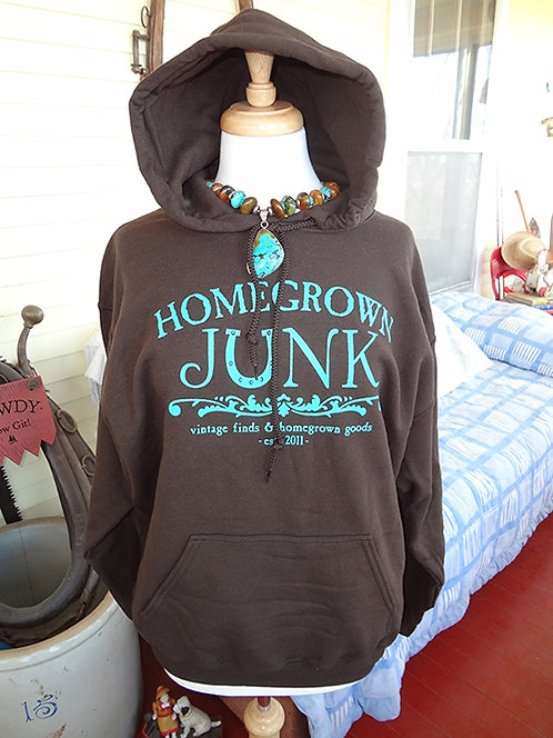 HGJ Chocolate Brown Hoodie