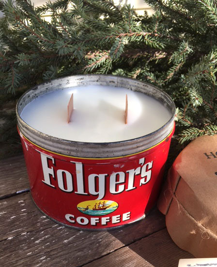 Folgers Coffee Tin HG
