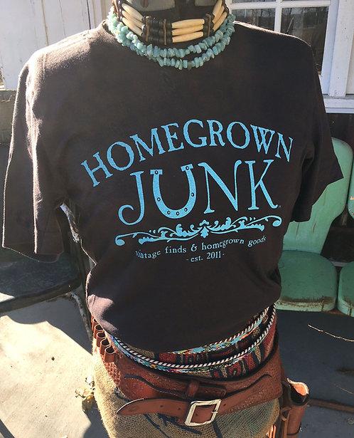 HGJ Dark Brown T-Shirt Light Weight
