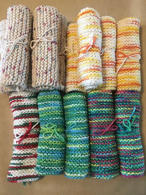 100% Cotton Yarn Dish Cloths