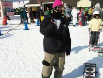 趣味のスノーボード