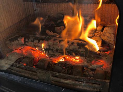 2台目のストーブにして、本当の意味で炎を楽しめるようになりました。
