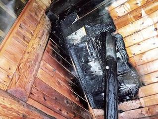 薪ストーブ火災に注意 煙突掃除欠かさずに(静岡新聞より)