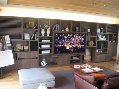 某ハウスメーカー新宿展示場のオーダー家具製作
