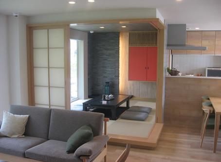 渋谷展示場のオーダー家具製作