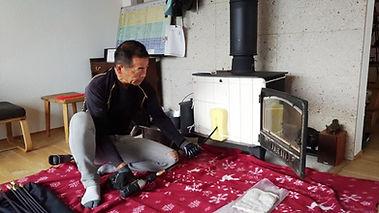 簡単で安全な煙突掃除メンテナンスツール