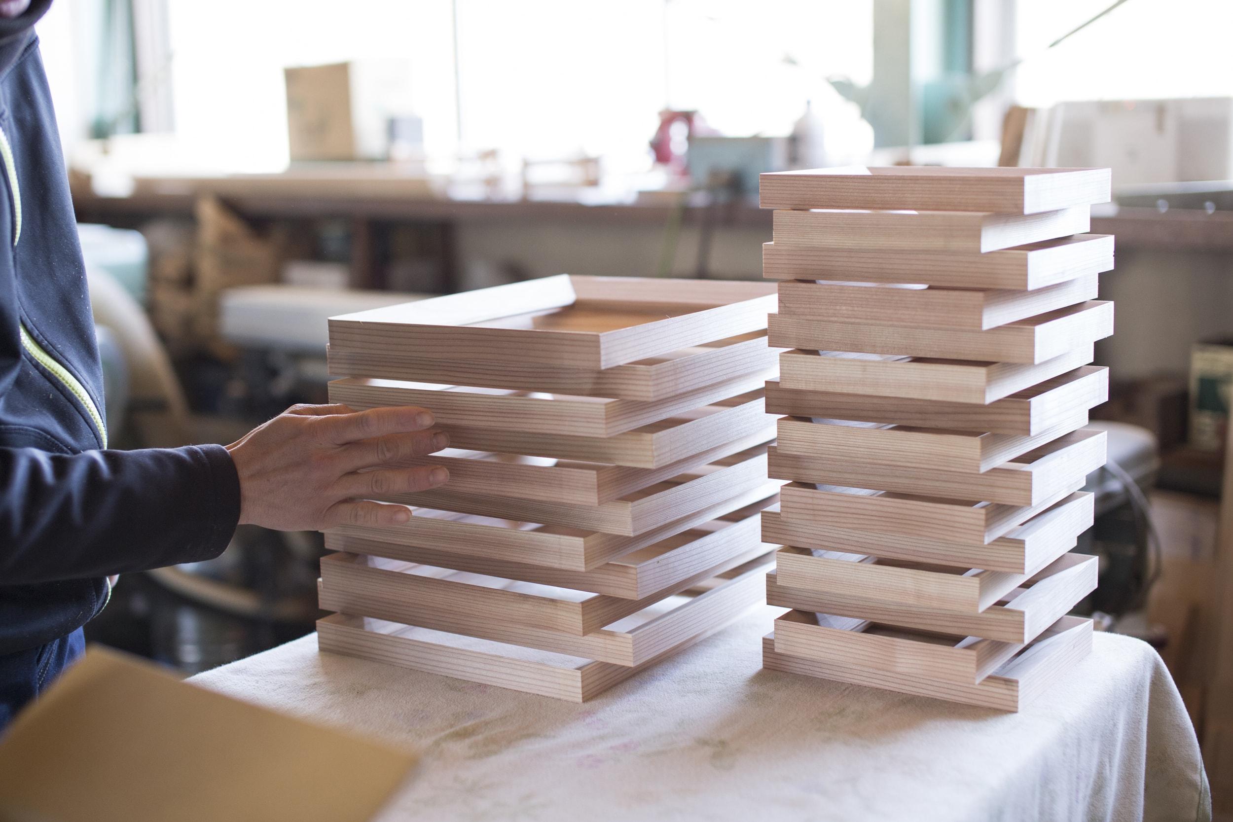 木製フォトフレーム9