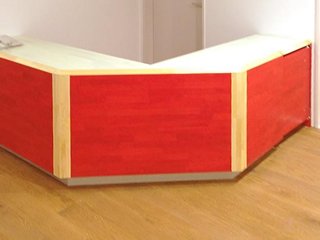 ハウスメーカー住宅展示場の造作家具