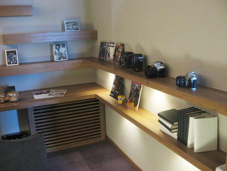 藤沢展示場のオーダー家具製作
