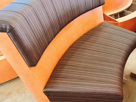 某外資系ホテル R型ソファのオーダー家具製作