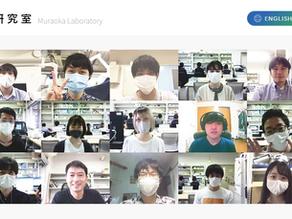 大学の研究室ホームページをWixで作らせていただきました。