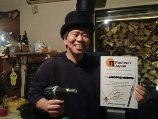 新たにRodtech Rotary Power Sweep 『安全講習』を受講され、無事にツールを手にされたお客様が仲間入り
