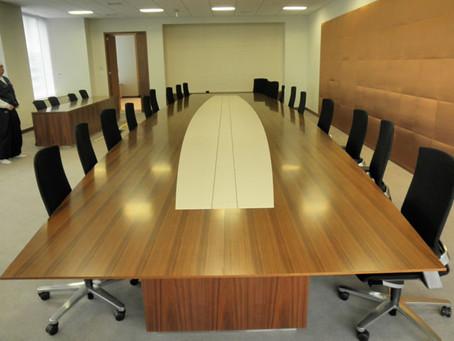 某企業様の役員会議室大テーブル10,000×3,000