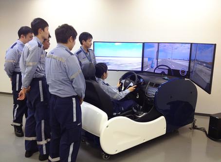 日本初!グランドハンドリングのドライブシュミレーターを導入!