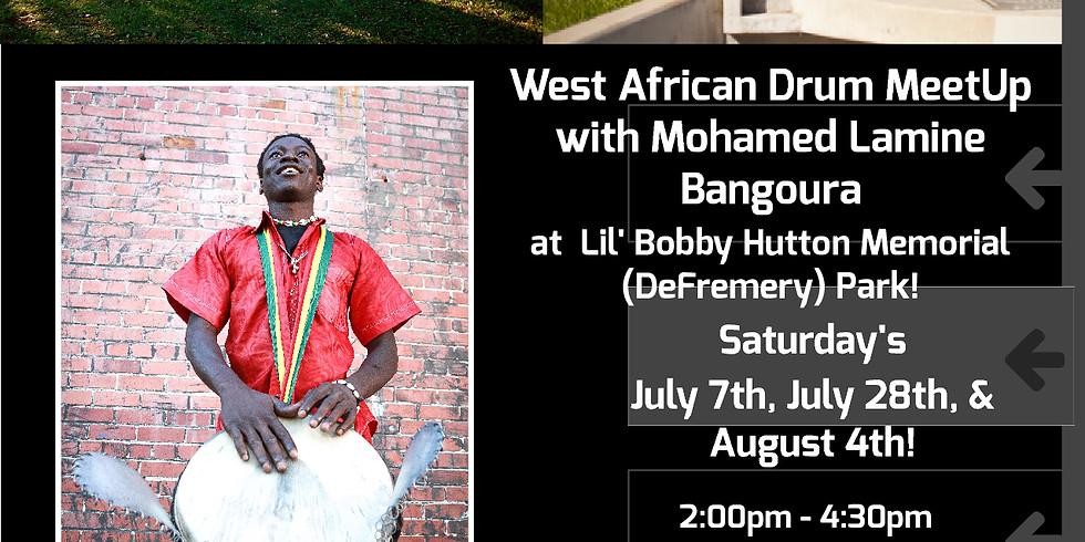East Bay West African Drum Circle Workshop