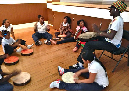 After School, Africa Percussion, Drum, Song, Dance, Afrique Sogue, Mohamed Lamine Bangoua