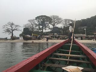 pirogue, boat, guinea, west african coast, iles de loos,