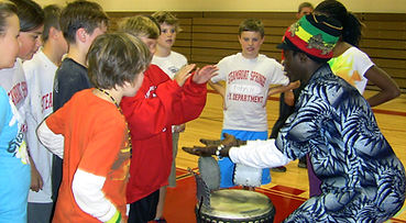 Youth, School, Education, Africa, Culture, Music, Arts, Mohamed Lamine Bangoura