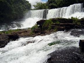 Dubreka ville, Les Cascades de Soumba, waterfall.
